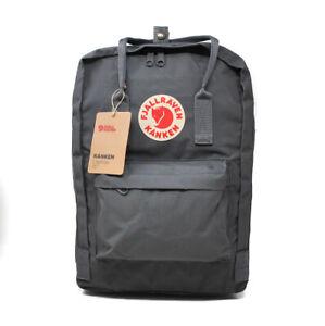 "FJALLRAVEN Kanken Laptop 15"" Backpack STYLE No 27172  Multiple Colors NEW"