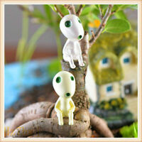 5 PCS Luminous in Dark  Forest Elf Plant Mononoke Spirit Princess Kodama Glow