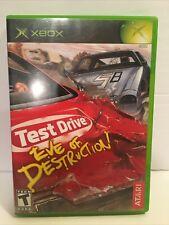 Test Drive: Eve of Destruction (Microsoft Xbox, 2004) Complete