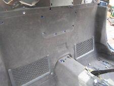 MB SLK r170 : Rückwand Teppich incl. Ledertasche - Gepäcknetze + Kleiderhaken