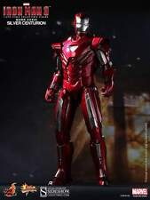 Hot Toys Iron Man 3 Silver Centurion Mark XXXIII MK 33 Sideshow Exclusive