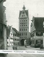 Weißenhorn : Das untere Tor - um 1930           W 5-22