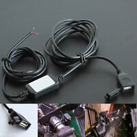 12V 2A Waterproof USB Power Supply Port Socket Charger Outlet Touring for Moto