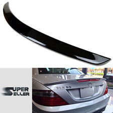 PAINTED 11-15 R172 MERCEDES BENZ SLK CLASS BOOT WING TRUNK SPOILER A TYPE ☚