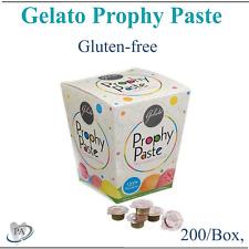 Dental Gelato Prophy Paste Grits: FINE, MEDIUM, X-COARSE, Gluten Free, 200/Box