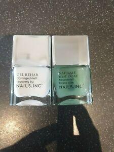 NAILS INC  Rehab Treatment  nailkale Base Coat to Cover all Bases x 2 14 ml each