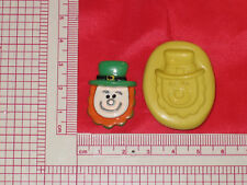 Leprechaun Silicone Push Mold 717 For Cake Pop Craft Chocolate Resin Candy Soap