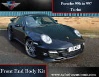 Porsche 911 996 to 997 Turbo Conversion Front End Body Kit