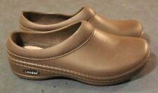 LANDAU FOOT WEAR X Womens CLOG NURSING BROWN SHOE size 10