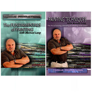 Painting Instruction DVDs set by Mix Lang