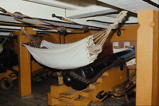 615060 HMS Victory Lower Gun Deck Hammock And Trafalgar Gun A4 Photo Print