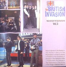 CD THE BRITISH INVASION - the history of british rock vol 3