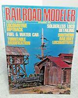 Railroad Modeler Magazine November 1972 Z N HO S O G vintage