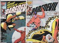Daredevil #237 & #238  Lot of 2 (1986/1987, Marvel Comics)