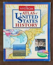 The Nystrom Atlas Of United States History (2014, Paperback)