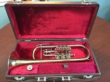 B & S Scherzer Rotary Valve C Trumpet, Superb condition