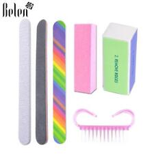 Set For Nail Manicure Kit Files Buffing Grit Sand File Uv Gel Nail Polish Tools