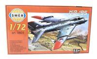 SMER Modellbau Kunststoff Modellbausatz Militär 1:72 Flugzeug Mig-195