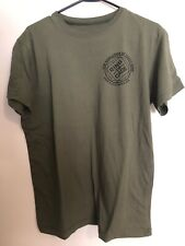 Ring To Cage T-shirt Mens Medium - Olive Green