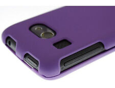 HTC Surround Protector Rubberized Hard Case Snap on Phone Cover Rubber Purple