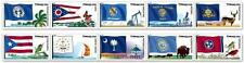 US Scott #4313-4322 44c Flags of Our Nation Set 5 - 1 Strip PN10 MNH Coil Stamps
