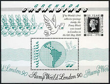 Grenadines Grenada 1990 SG#MS1266 London Stamp Exhibition MNH M/S #A89405