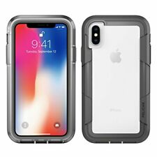 iPhone X Case | Pelican Voyager iPhone X Case Clear/Grey
