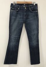 7 FOR ALL MANKIND SEVEN Blue Denim Women's Jeans Size 28 'A Pocket' [P2]