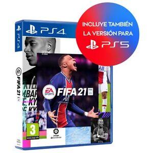 FIFA 21 PS4 - JUEGO FISICO EN ESPAÑOL CASTELLANO NUEVO PRECINTADO