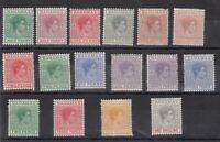 Bahamas KGVI 1938 Set Toi 1/- (Shades) MH JK2102
