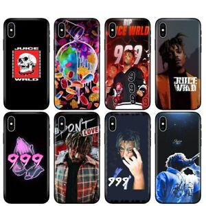 Juice WRLD Hip Hop 999 American rapper singer Case For iPhone 7 8 XS 11 Pro Max