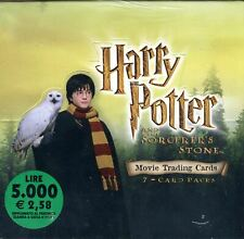 Harry Potter and the Sorcerer's Stone Widevision Card Box 2001