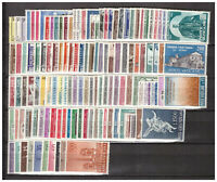 s10923) VATICANO MNH**1958/63 Pope John XXIII Complete Collection Giovanni XXIII