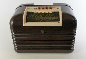 Bush DAC10 Valve Radio Very good  condition Serviced (Tested & Working)