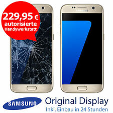 Original Samsung S7 G930F LCD Display Touchscreen Reparatur Gold