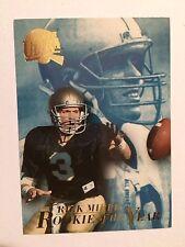 1994 Ultra #1 - Rick Mirer - Notre Dame Fighting Irish