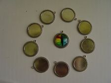 10 ~ 20MM CABOCHON TRAY FOR JEWELRY PENDANTS 2 COUNT