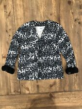 CWD kids Cardigan Black White Grey 5/6