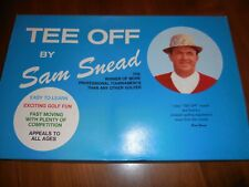 "Vintage 1973 ""Tee Off"" Golf Board Game endorsed by Sam Snead. Complete & Rare!"