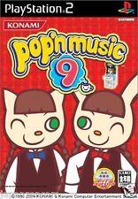 Used PS2 KONAMI Pop'n Music 9 SONY PLAYSTATION 2 JAPAN