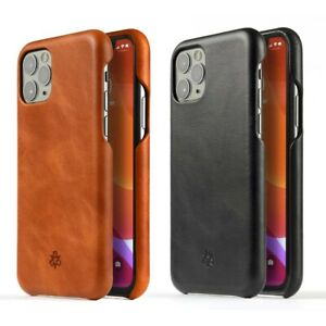 Novada Genuine Leather Back Cover Case for iPhone 11, 11 Pro & 11 Pro Max