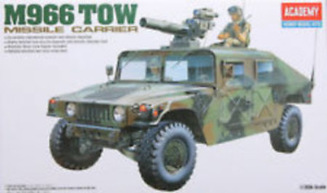 ACADEMY 13250 1/35 M-966 HUMMER WITH TOW PLASTIC MODEL KIT (ACA-13250)