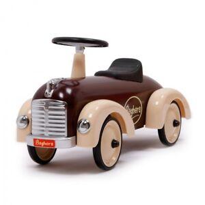 Baghera Rutscher Speedster Schokolade aus Metall Rutschauto für Kleinkinder 884