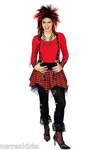 Punk Girl Punkgirl Punker Rocker Punkgirlkostüm Punkerin Rockerin Rock Kostüm