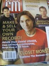 CM Canadian Musician Magazine March/April 2005 David Usher, Closet Monster, Kath