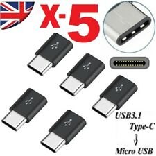 5 Micro USB to Type-C Data Charge Cable Adapter for Google pixels Samsung s8 plus