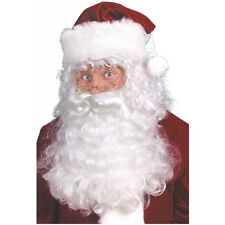 Santa Beard, Wig and Eyebrows Adult Christmas Costume Accessory Fancy Dress