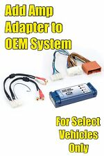 2004-2009/2010/2011/2012/2013 Mazda 3 Add An Amp Amplifier Adapter Interface