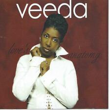 SOUL R&B black music CD - VEEDA - LOVE 'S ANATOMY ( ref : DC2)