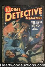 Dime Detective Jul 1, 1935 Cornell Woolrich, Fredrick Davis, Baumhofer Cvr